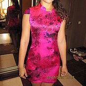 Одежда ручной работы. Ярмарка Мастеров - ручная работа Шёлковое платье в японском стиле и болеро. Handmade.