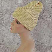 Аксессуары handmade. Livemaster - original item Beanie knitted hat, beanie, hat, pumpkin. Handmade.
