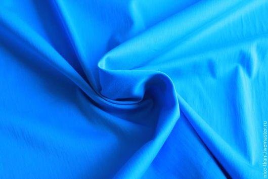 """Шитье ручной работы. Ярмарка Мастеров - ручная работа. Купить Ткань 38901 костюмно-плательная ткань """"лазурь"""". Handmade. Голубой"""