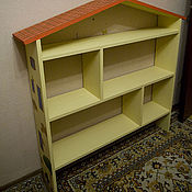 Для дома и интерьера ручной работы. Ярмарка Мастеров - ручная работа Стеллаж для игрушек. Handmade.