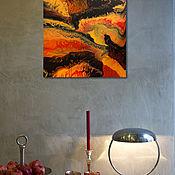 Картины ручной работы. Ярмарка Мастеров - ручная работа Интерьерная картина Пэчворк. Handmade.