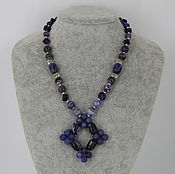 Украшения handmade. Livemaster - original item Necklace made of natural stones agate