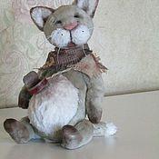 Куклы и игрушки handmade. Livemaster - original item Teddy Kotick Hobo Sam.. Handmade.