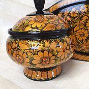 Посуда ручной работы. Ярмарка Мастеров - ручная работа Кастрюлька из липы. Handmade.