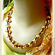 Order beads 'bumps' amber. Frollena II. Natural Baltic amber. Livemaster. . Necklace Фото №3