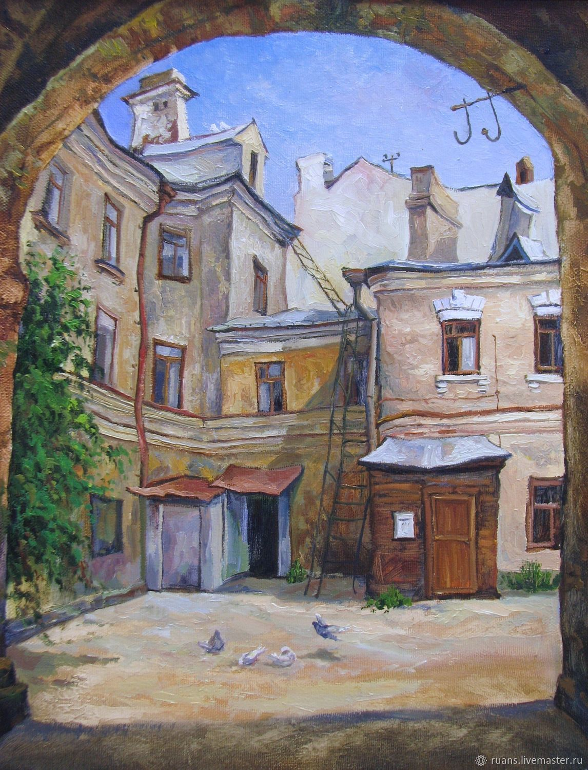 Noon. The house on the street Lobachevsky, Pictures, Kazan,  Фото №1