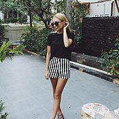 Одежда handmade. Livemaster - original item shorts stripe. Handmade.