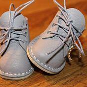 Обувь ручной работы. Ярмарка Мастеров - ручная работа Ботиночки для куклы с каблучком.ПРОДАНО.. Handmade.