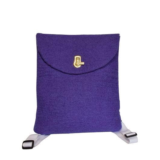 Рюкзаки ручной работы. Ярмарка Мастеров - ручная работа. Купить Рюкзак. Handmade. Тёмно-фиолетовый, рюкзак ручной работы