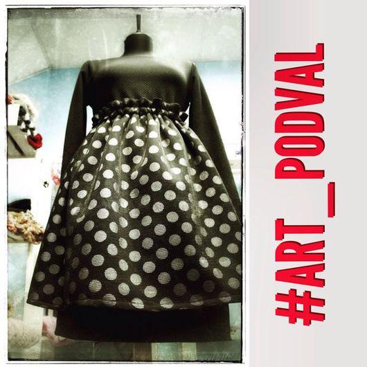 """Платья ручной работы. Ярмарка Мастеров - ручная работа. Купить Платье-трансформер """"Монохром"""". Handmade. Платье, единственный экземпляр, неопрен"""