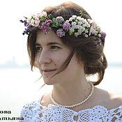 Свадебный салон ручной работы. Ярмарка Мастеров - ручная работа Веночек из полевых  цветов. Handmade.