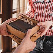 Чехол ручной работы. Ярмарка Мастеров - ручная работа Обложка на документ из кожи премиум класса. Handmade.