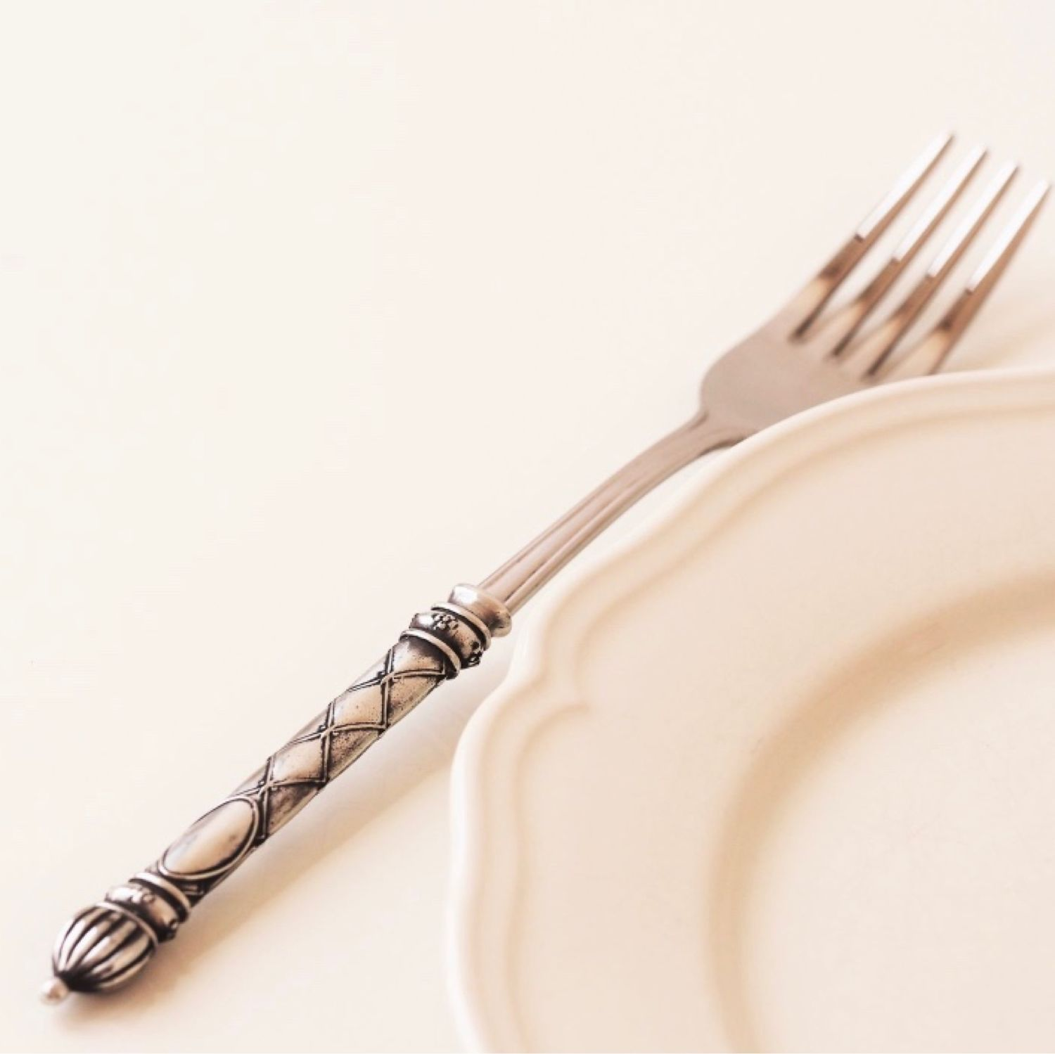 Table fork ROYAL LILY. Vintage style Cutlery, Forks, Zhukovsky,  Фото №1