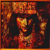Картины и панно ручной работы. Ярмарка Мастеров - ручная работа портрет Фредди Меркюри. Handmade.