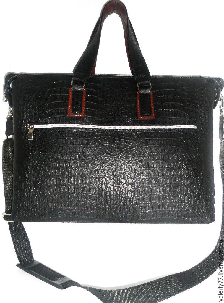 b146f5aced12 Мужские сумки ручной работы. Ярмарка Мастеров - ручная работа. Купить Сумка  мужская А4