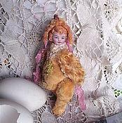 """Куклы и игрушки ручной работы. Ярмарка Мастеров - ручная работа Тедди - долл  цыпленок """" Анета """". Handmade."""
