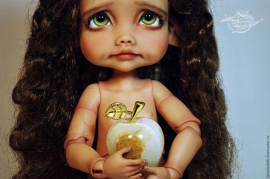 """Коллекционные куклы ручной работы. Ярмарка Мастеров - ручная работа. Купить Ромашка (тан).  Кукла серии """"Три Цветочка"""". Handmade."""
