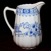 Винтаж handmade. Livemaster - original item Beautiful vintage jug, decor China Blau Seltmann Weiden, German.. Handmade.