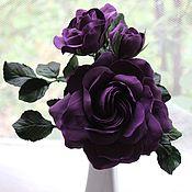 """Цветы и флористика ручной работы. Ярмарка Мастеров - ручная работа Розы """"Violet"""". Handmade."""