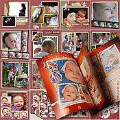 """Канцелярские товары ручной работы. Ярмарка Мастеров - ручная работа Фотокнига """"Первый год малыша"""". Handmade."""