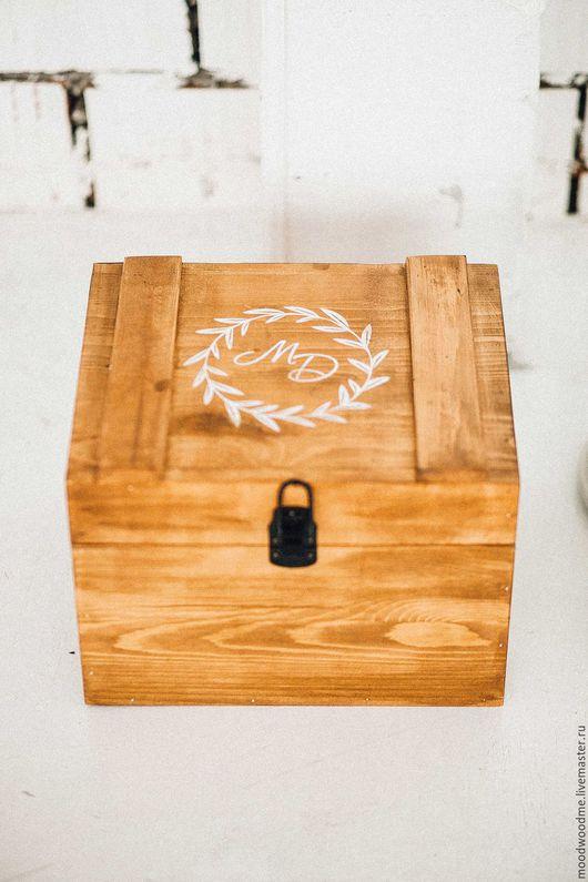 Шкатулки ручной работы. Ярмарка Мастеров - ручная работа. Купить Деревянный сундучок. Handmade. Натуральное дерево, рустикальный стиль, для дома