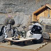 Куклы и игрушки ручной работы. Ярмарка Мастеров - ручная работа Композиция Муха-Цокотуха. Handmade.