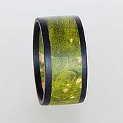 Украшения handmade. Livemaster - original item A bright ring of wood. Handmade.