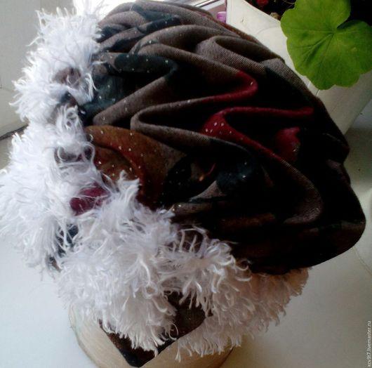 Шапки ручной работы. Ярмарка Мастеров - ручная работа. Купить зимушка. Handmade. Комбинированный, шапка зимняя, искусственный мех