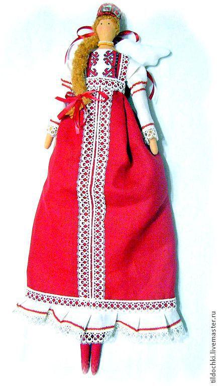 Куклы Тильды ручной работы. Ярмарка Мастеров - ручная работа. Купить Кукла в русском народном костюме. Handmade. Народная кукла