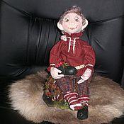 Куклы и игрушки ручной работы. Ярмарка Мастеров - ручная работа Домовёнок. Handmade.