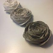 Для дома и интерьера ручной работы. Ярмарка Мастеров - ручная работа Бетонная Фигурка цветок (лютик). Handmade.