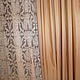 Текстиль, ковры ручной работы. Комплект штор для спальни №28. Дизайн-студия 'Соланж'. Ярмарка Мастеров. Карнизы, соланж