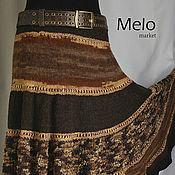 Одежда ручной работы. Ярмарка Мастеров - ручная работа Красивая вязаная юбка. Handmade.