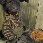 Подарки к праздникам ручной работы. Ярмарка Мастеров - ручная работа Собака плюшевая. Handmade.