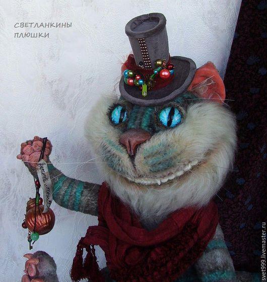 """Мишки Тедди ручной работы. Ярмарка Мастеров - ручная работа. Купить плюшевый котей """"Туманный Мистер Че"""". Handmade."""
