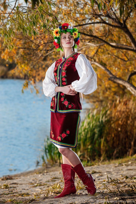 Арт. 1128, Народные костюмы, Москва,  Фото №1