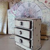 Для дома и интерьера ручной работы. Ярмарка Мастеров - ручная работа Комодик в горошек. Handmade.