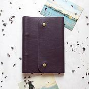 Канцелярские товары handmade. Livemaster - original item Leather notebook. Handmade.
