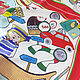 Платок Braccialini подписной шелк 100% 1022107. Ткани. Итальянские ткани. Ярмарка Мастеров.  Фото №4