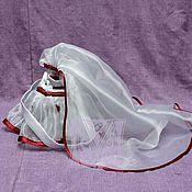 Свадебный салон ручной работы. Ярмарка Мастеров - ручная работа Фата и сумочка к платью Латина. Handmade.