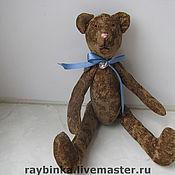 Куклы и игрушки ручной работы. Ярмарка Мастеров - ручная работа Шоколадный мишка ! :). Handmade.