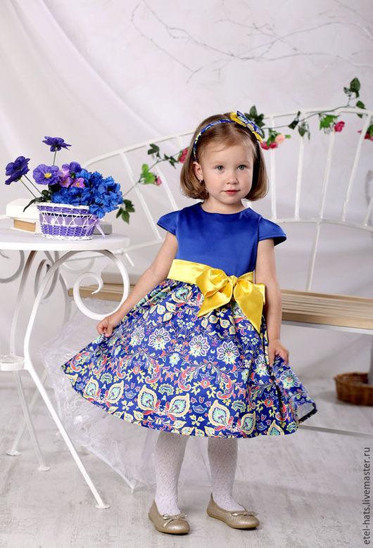 Одежда для девочек, ручной работы. Ярмарка Мастеров - ручная работа. Купить Платье детское для девочки Эмма. Handmade. Платье