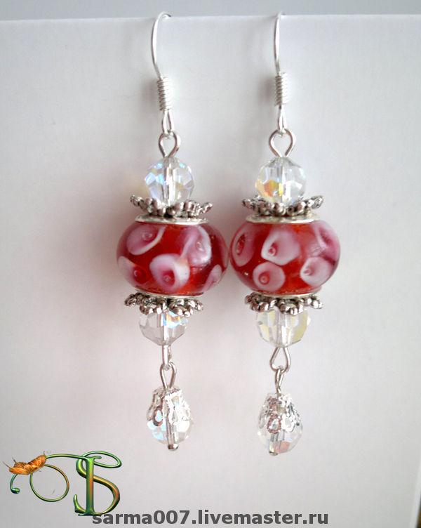 Earrings 'Caramels' Pandora style, Earrings, Voronezh, Фото №1