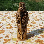 Для дома и интерьера handmade. Livemaster - original item Odin`s idol (dark). The statuette from cedar wood.. Handmade.