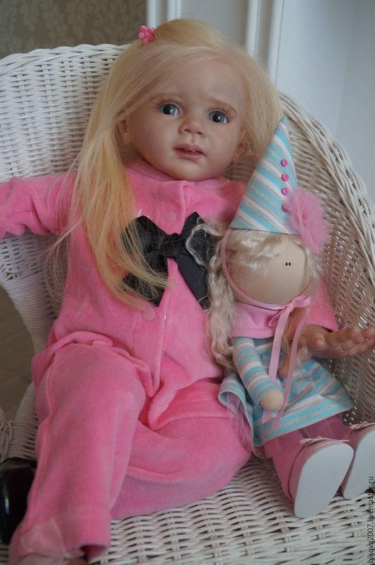 Куклы-младенцы и reborn ручной работы. Ярмарка Мастеров - ручная работа. Купить Алиса. Handmade. Розовый, Виниловая заготовка
