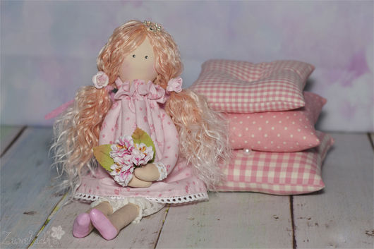 Куклы Тильды ручной работы. Ярмарка Мастеров - ручная работа. Купить Принцесса на горошине. Handmade. Тильда, белый, подарок ребенку