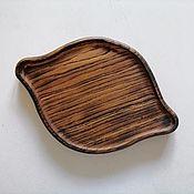 Посуда handmade. Livemaster - original item Oak cutting board Khachapuri in Ajarian style. Handmade.
