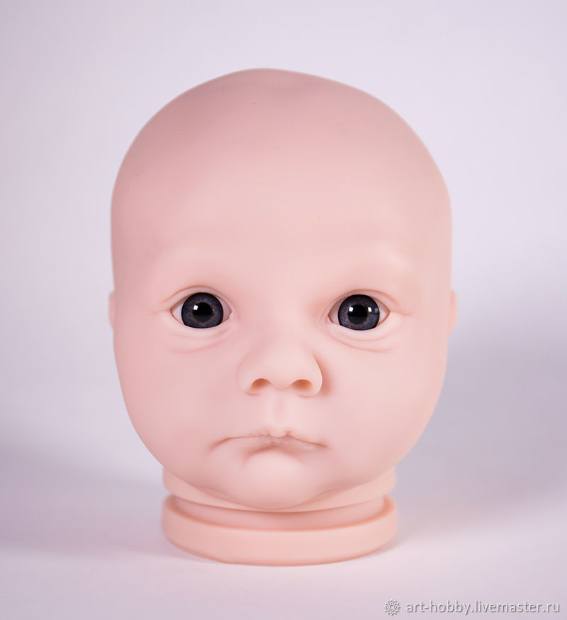 Mold Realborn Asher Awake, Blanks for dolls and toys, Moscow,  Фото №1