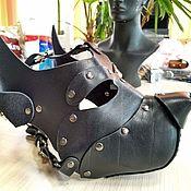 Аксессуары ручной работы. Ярмарка Мастеров - ручная работа Аксессуары: Маска собаки Dog mask. Handmade.
