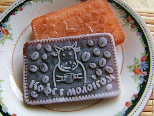 """Мыло ручной работы. Ярмарка Мастеров - ручная работа. Купить Мыло Печенье """"Кофе с молоком"""". Handmade. Печенье, печенька, овсяное"""